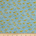 Liberty Fabrics Tana Lawn Gaggle Blue/Yellow