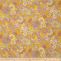 Lecien Memoire A Paris 2017 Floral Basic Lawn Yellow