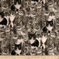 Cats The Way I Like It by Skipping Stones Studio Y2318 Light Gray