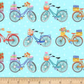 Enjoy The Journey Bicycles Blue