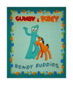 Riley Blake Gumby Green Panel