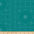 Art Gallery Wild Bloom Sashiko Florette Teal