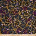 Art Gallery City Loft Fusion Graphic Blooms City Dark Grey