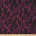 Cotton + Steel Lawn Lawnquilt Metropolis Wine