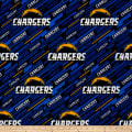 NFL Fleece Los Angeles Chargers Blue