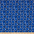 Maggy London ITY Knit Chainlink Block Blue/White/Black