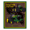 "John Deere Tractor Factor 34"" Panel Green"