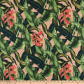 Pine Crest Fabrics Tropical Flower on Olympus Athletic Double Knit Pink/Green