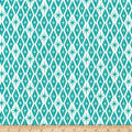 Kaufman Palm Canyon Diamonds Teal