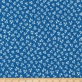 Kaufman Sunshine Garden Triangles Navy