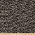 Wool Blend Herringbone Coating Black/White