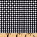 QT Fabrics Sorbet Essentials Gingham Black