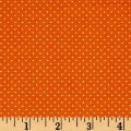 QT Fabrics Sorbet Essentials Mini Dot Orange