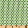 QT Fabrics Patchwork Farms Geo Grid Green