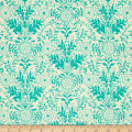 Ink & Arrow Hayden Lyla Damask Cream/Aqua
