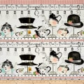 "Hatters Tea Party Hatters Tea 10 1/2"" Stripe Multi"