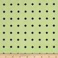 Hatters Tea Party Diamond Dot Light Green