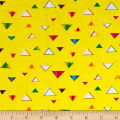 Party Animals Triangles Yellow