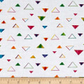 Party Animals Triangles White