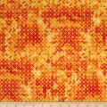 QT Fabrics Soiree Diamond Geometric Orange