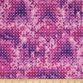 QT Fabrics Soiree Diamond Geometric Pink