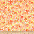 QT Fabrics Soiree Watercolor Leaves Lt. Orange