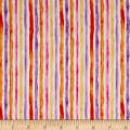 QT Fabrics Soiree Watercolor Stripe Cream