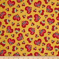 QT Fabrics Love Grows Here Love Hearts Honey