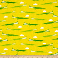 QT Fabrics On The Road Alligators Yellow