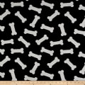 Crypton Home Dog Bones Jacquard Black