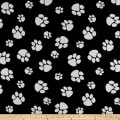 Crypton Home Pet Paws Jacquard Black