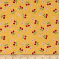 Riley Blake Bake Sale 2 Cherry Yellow