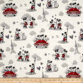 Disney Mickey & Minnie Vintage Scenes Of Romance Multi