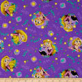 Disney Tangled Rapunzel Toss Purple