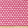Cloud 9 Organic Interlock Knit Triangles Magenta