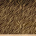 Shannon Minky Frosted Zebra Cuddle Cappucino/Brown