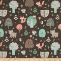 Little Forest Animals in the Forest Brown