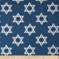 Star of David Jacquard Blue