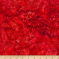 Wilmington Essential 108 Backing Mottled Leaves Red