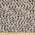 Italian Imported Boucle Coating Ivory/Black