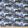 Wild Wings Silver Shadows Wolf Scenic Multi