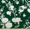 Ralph Lauren Home LCF68234F Tea House Twill Floral Racing Green