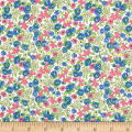Penny Rose Mae Flowers Floral Blue