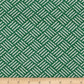 Ralph Lauren Home Outdoor Juta Weave Basketweave Bottle Green
