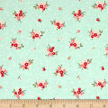 Riley Blake Sweet Prairie Posies Mint