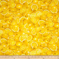 Timeless Treasures Farm Stand Lemons Lemon