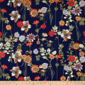 Telio Pebble Satin Floral Navy