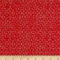 South Of The Border  Basket Weave Red