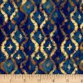Three Kings Brocade Sapphire