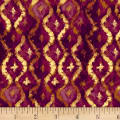 Three Kings Brocade Amethyst